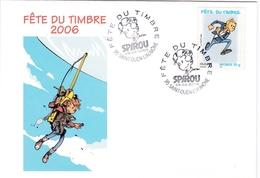 Enveloppe Souvenir Souvenir Fête Du Timbre 2006 - Autres