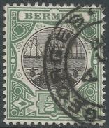 Bermuda. 1906-10 Dry Dock. ½d Used. Red. Mult Crown CA W/M SG 45 - Bermuda