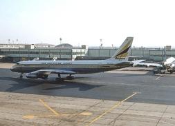 Aviation Postcard-733-PANAGRA Douglas DC-8 - 1946-....: Moderne