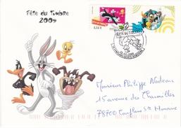 Enveloppe Souvenir Souvenir Fête Du Timbre 2009 - Autres