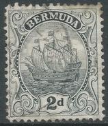 Bermuda. 1922-34 Ship. 2d Used. Mult Script CA W/M SG 80 - Bermuda