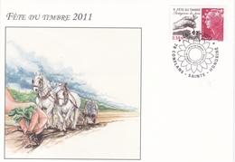 Enveloppe Souvenir Souvenir Fête Du Timbre 2011 - Autres
