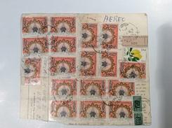 Libya Parcel Card TRIPOLI 1969 Social Security> Italia With PACCHI POSTALI (cover Lettre Lettera Regno Unito Della Libia - Libia