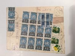 Libya Parcel Card TRIPOLI 1969 World Health Day> Italia PACCHI POSTALI (cover Lettre Lettera Regno Unito Della Libia - Libia
