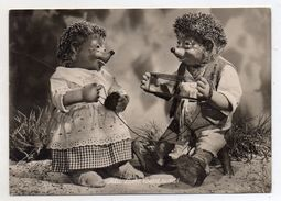 MECKI - Alte Liebe Rostet Nicht !- Viaggiata Nel 1955 - Cartolina Nr. 19 - (FDC6503) - Mecki