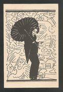 Carte Publicitaire - Direkter Japan-Import - Amberg & Cie. BASEL -- Voyagée 1922 -- JAPON - - BS Basle-Town