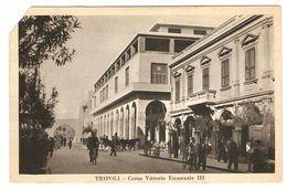 TRIPOLI   ----  Corso Vittorio Emanuele III - Libye