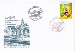 Enveloppe Souvenir  (congres Du Gaphil 1999 à Conflans Sainte Honorine) - Other
