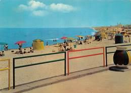 Cartolina Sassari Platamona Spiaggia 1968 - Sassari