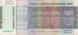 BILLETE DE BRASIL DE 500 CRUZEIROS DEL AÑO 1979 (BANK NOTE) - Brazil