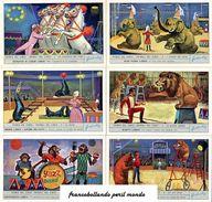 Chromo Liebig Sang. 1864 ITA Storia Del Circo II ANNO 1974 - Liebig