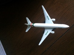 Alitalia Boeing 777majorette Scala 1:500 Nuovo - Aerei E Elicotteri