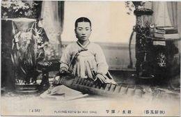 CPA Corée Koréa Type Musicien Non Circulé - Korea, South