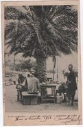Types Algériens  --  GARGOTIER AMBULANT  --  MARCHAND DE FEVES. - Algérie