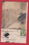 Gudvangen  --  Carte Photo -  Postée De Zanzibar -- 23/3/1914 - Norway