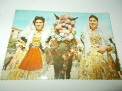 B670 Quartu S.elena Costumi Sardi Viaggiata - Quartu Sant'Elena