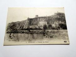 CPA - SANARY (83) - Falaise Des Baux - 1923 - Sanary-sur-Mer