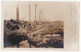Strasse Von Geluwe über Geluveld Nach Ypern. Fotokaart, 14/06/18 Erster Weltkrieg. - Zonnebeke