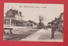 Chagny  -  La Gare - Chagny