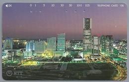 JP.- Japan, Telefoonkaart. Telecarte Japon. NTT. TELEPHONE CARD 105 - Telefoonkaarten