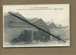 CPA - Levallois Perret - Le Dépot De La Cie Française Des Automobiles De Place -Place Collange -(auto, Voiture Ancienne) - Levallois Perret