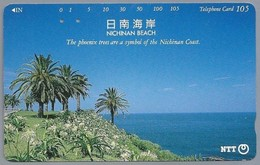 JP.- Japan, Telefoonkaart. Telecarte Japon. NTT. TELEPHONE CARD 105. NICHINAN BEACH. - Telefoonkaarten