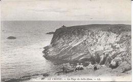 CPA - LE CROISIC - La Plage Du Sable-Menu - Le Croisic
