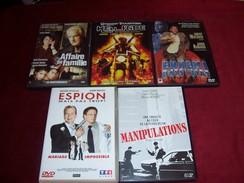 LOT DE 5 DVD   POUR 10 EUROS ( Lot  16 / 60 /  9 ) - DVDs