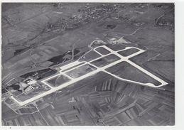 Basel-Mühlhausen - Flughafen - Fliegeraufnahme Balair - 1954       (P-96-171127) - Aeródromos