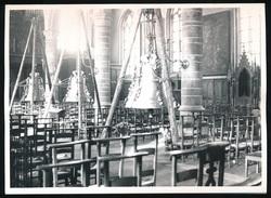 GENT :   FOTO  18 X 12 CM -  KERK VAN EKKERGEM - INHULDIGING VAN DE KLOKKEN - Gent