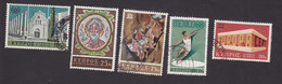 Cyprus, Scott #304, 308, 310, 319, 327, Used, Marble Forum, St Andrew's, Discus Thrower, Europa, Issued 1967-69 - Cyprus (Republiek)