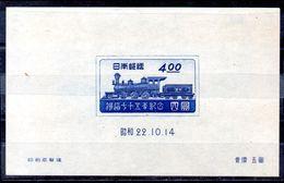Hoja Bloque De Japón N ºYvert 13 Nuevo Sin Goma - Blocks & Sheetlets