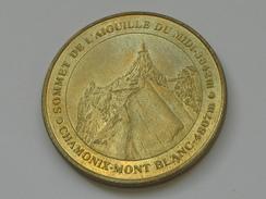 Monnaie De Paris 2000  - Sommet De L'aiguille Du Midi 3842 M- Chamonix-Mont Blanc 4807  **** EN ACHAT IMMEDIAT  **** - Monnaie De Paris