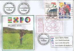 """SIERRA LEONE. UNIVERSAL EXPO MILANO 2015 """"NOURRIR LA PLANÈTE"""",rizières, Lettre Du Pavillon De Sierra Leone - 2015 – Milan (Italy)"""
