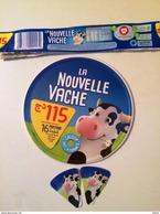 ETIQUETTE DE FROMAGE LA  NOUVELLE VACHE (FROMAGE BELL) - Cheese