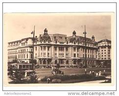 19058)cartolina Illustratoria  Bucarest - Universita' C.i. Parhon - Romania