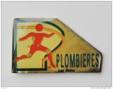 Pin's Plombières Les Bains - 29R - Steden