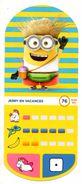 IM276 : Auchan Moche Méchant Carte N°76 JERRY En Vacances - Trading Cards