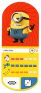 IM279 : Auchan Moche Méchant Carte N°79 CARL Cool - Trading Cards