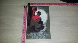 C-001235 PUBBLICITA ESPOSIZIONE INTERNAZIONALE MILANO 1906 INAUGURAZIONE DEL SEMPIONE - Pubblicitari