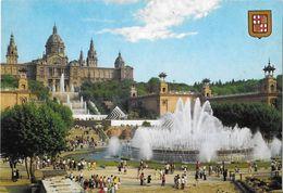 BARCELONA - Fuente De Montjuic - Barcelona