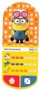 IM280 : Auchan Moche Méchant Carte N°80 DAVE En Vacances - Trading Cards