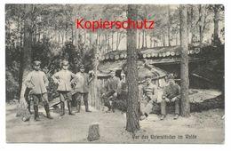 Deutsche Soldaten, Skierniewice 1916 - Weltkrieg 1914-18