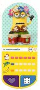 IM284 : Auchan Moche Méchant Carte N°84 Minion Hawaïen - Trading Cards
