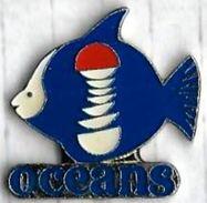 POISSON - P6 - OCEANS - Verso : ALANN MARK'S - Pin