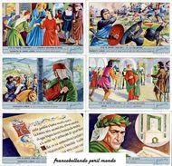 Chromo Liebig Sang. 1810 ITA Vita Di Dante ANNO 1965 - Liebig