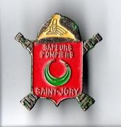 PIN'S . SAPEURS POMPIERS . SAINT-JORY - Réf. N°1PN - - Pompiers