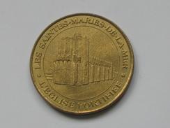 Monnaie De Paris 2002 - LES SAINTES-MARIES DE LA MER - L'EGLISE FORTIFIEE  **** EN ACHAT IMMEDIAT  **** - Monnaie De Paris