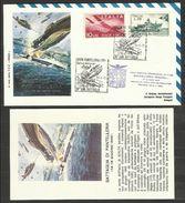 1972 Italia Italy STORIA POSTALE BATTAGLIA DI PANTELLERIA Busta E Cartolina Volo Speciale Aeronautica Militare Affr. 35L - Seconda Guerra Mondiale