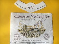 5799 - Château Du Moulin à Vent 1986 - Beaujolais